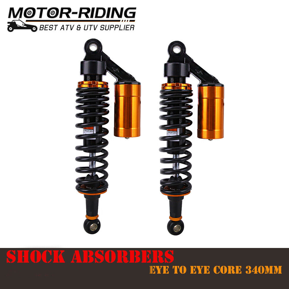 Suspension Chassis LIUYE 340mm Motorcycle Air Shocks Absorber Fit ...