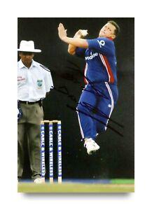 Darren-Gough-Signed-6x4-Photo-England-Cricket-Genuine-Autograph-Memorabilia-COA