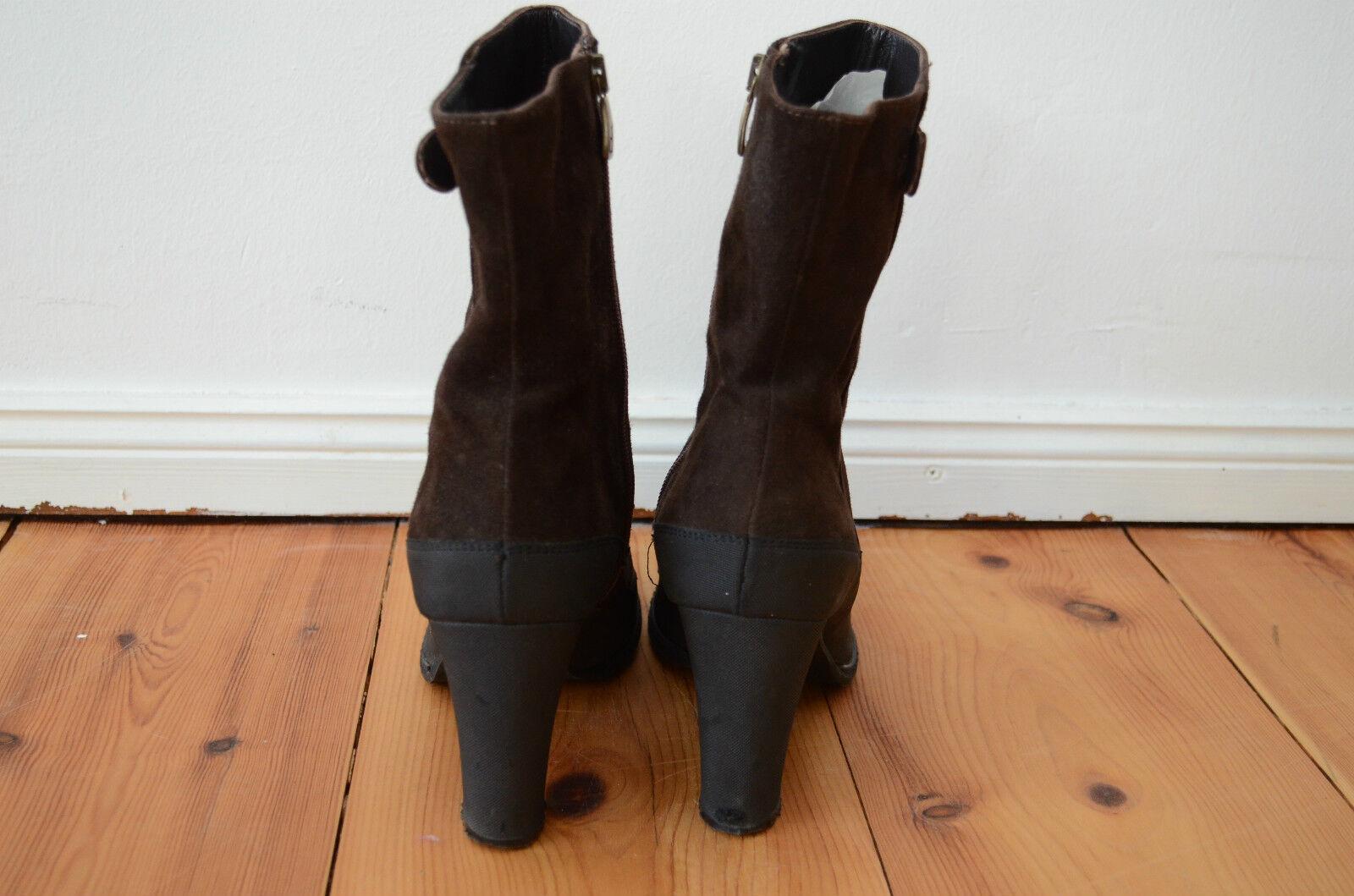 MANUFACTURE  D`ESSAI Stiefeletten Ankle Stiefel Wildleder 40  MANUFACTURE 195,-€Stiefel 949def