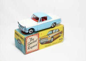 Corgi-231-Triumph-Herald-Coupe-En-Su-Caja-Original-Casi-Nuevo-Modelo-Original