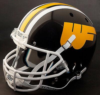 Football Helmet Wall Clock SunTime Wake Forest Demon Deacons