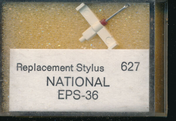 """aiguille Record Needle Pick-up Replacement Stylus 627 National Eps-36 Srdiamond Shrink-Proof"