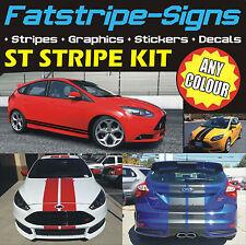 Ford Focus St Rayas Mk4 coche gráficos Stickers Calcomanías aleaciones Vinilo 2.0 Turbo