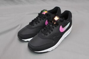 b520a70856c NIKE AIR MAX 1 SE- JELLY PACK - BLACK BLUE GLAZE ACTIVE FUCHSIA ...