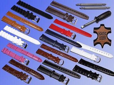 Cuero,cuero Artificial O Jewelry & Watches Silicona Pulsera De Reloj,barra Tensora,reloj Wristwatch Bands