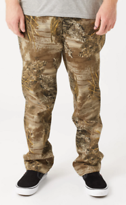 Huf-Worldwide-Skateboard-Pant-Pants-Hose-Lincoln-Realtree-Camo-in-M-32