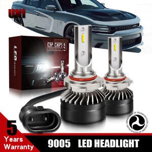 Pair-12000LM-6000K-9005-CSP-DOT-LED-Headlight-Bulb-For-2004-2016-SUBARU-IMPREZA
