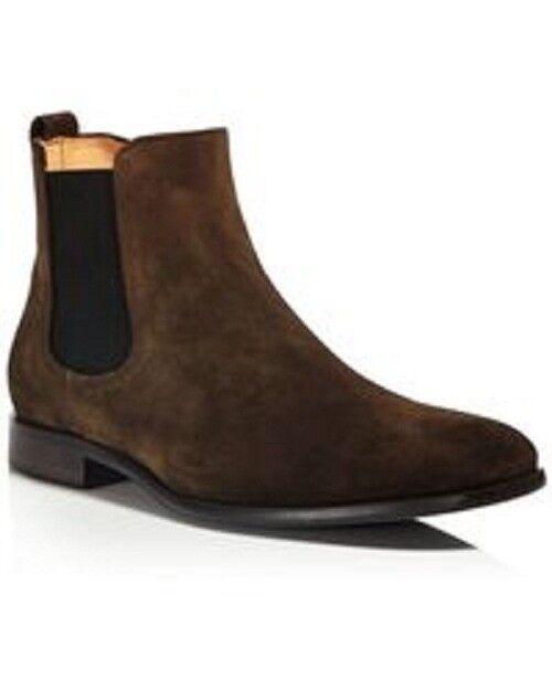 New Handmade Men's Marroneee  pelle pelle pelle pelle scamosciata Chelsea avvio, Men caviglia stivali di pelle  varie dimensioni