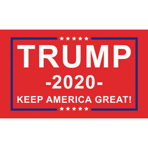 """3x5/"""" Donald Trump 2020 Re-Election Flag USA Flag  President Keep America Great y"""
