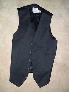 Victorinox-Swiss-Army-38-long-Men-039-s-Formal-Business-Dress-Vest-Suit-Tuxedo