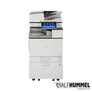 Ricoh-Aficio-MP-4054-KopiererDrucker-Scanner-LAN-Duplex-USB-4-PF-A3