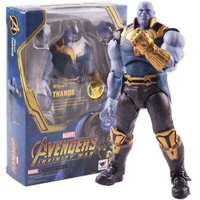 MARVEL AVENGERS Thanos infinity War tamaño Figura de Acción 17 cm.
