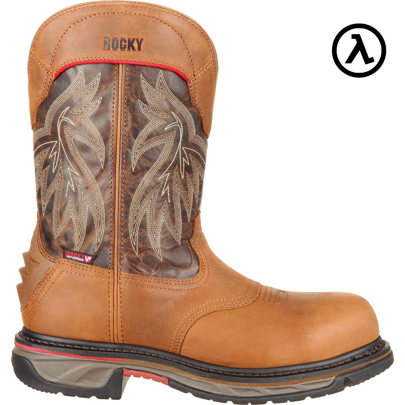 ROCKY IRON SKULL COMPOSITE TOE WATERPROOF WESTERN BOOTS RKW0203 -NEW - ALL SIZES -NEW RKW0203 58e3c1