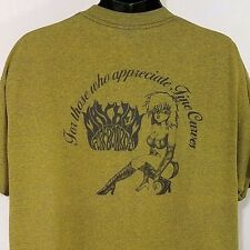 Mayhem Surfboards T Shirt Vtg 90s Fine Curves Lost Single Stitch USA Mens Sz 2XL