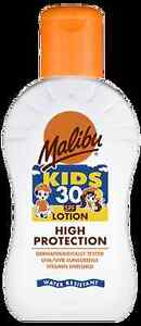 Malibu Kids Sun Lotion SPF 30 100ml Children's Sun Cream