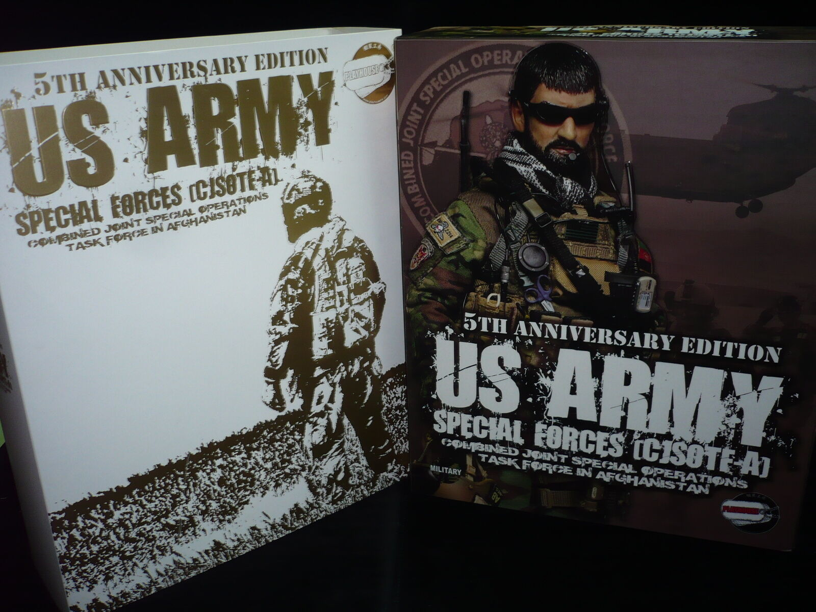 1 6 PLAYHOUSE 5TH ANNIVERSARY US ARMY specialeee  FORCES (verde BERET) AFGHANISTAN  negozio online