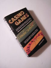 Casino Games Paperback! (1988) Black Jack, Video Poker, Craps, Roulette, Keno