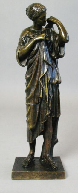 Fine Antique Grand Tour Bronze Sculpture of Artemis  Barbedienne  c. 1870 French