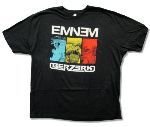 Eminem Berzerk Portraits Black T Shirt New Soft Official Hip Hop
