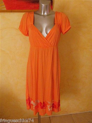 Hübsch Kleid Orange jackpot Größe M Neu Etikett Wert