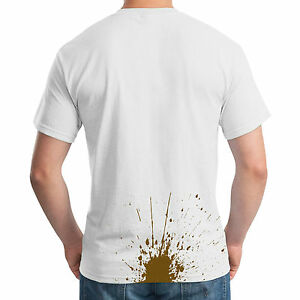 Poo-Stain-T-Shirt-Funny-Poop-Splat-Joke-Stag-Party-Fancy-Dress-Prank-Mens-Top