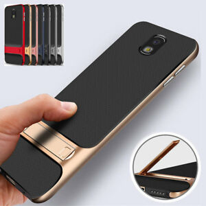 best cheap 6de5e 97361 Details about For Samsung Galaxy J7 Pro 2017 A6 A7 A8 2018 Shockproof Stand  Bumper Case Cover
