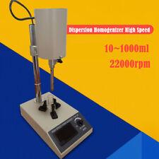 High Speed Lab Electric Mixer Agitator Homogenizer 8000 20000rpm 101000ml Top