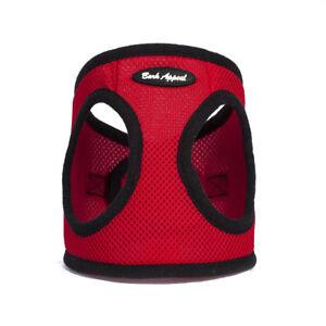Bark-Appeal-EZ-Wrap-Mesh-Dog-Step-In-Harness-Red-Sizes-XXS-XXL