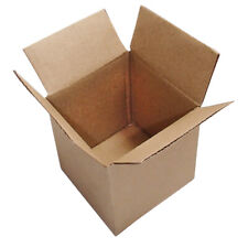 40 4x4x4 Brown Corrugated Cardboard Box Mailers Small Shipping Boxes