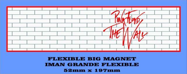 PINK FLOYD THE WALL FLEXIBLE BIG MAGNET IMÁN GRANDE A0103