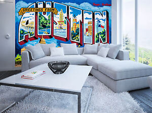 Greetings from austin wall mural photo wallpaper giant decor paper image is loading greetings from austin wall mural photo wallpaper giant m4hsunfo