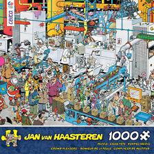 CROWD PLEASERS PUZZLE CANDY FACTORY JAN VAN HAASTEREN 1000 PCS #3342-24