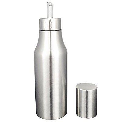 Stainless Steel Olive Oil Bottle Dispenser Leakproof 750ml