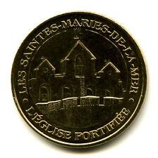 13 LES SAINTES-MARIES Clocher, NG, Paris en gras, 2014, Monnaie de Paris