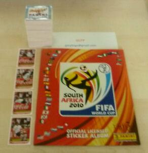 Panini-World-Cup-2010-sticker-loose-set-Empty-Sticker-Album-Klose-Germany