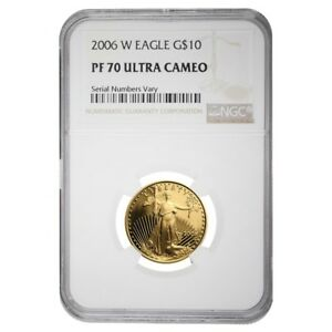 2006-W-1-4-oz-10-Proof-Gold-American-Eagle-NGC-PF-70-UCAM