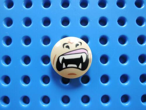LEGO 1 X PIASTRA circa 2654pb003 Beige 2x2 Bedr viso 70125