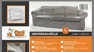 Sessel uvm NEU -6522 1x Universalhülle Sofas Couch Schutzhülle NEUHEIT