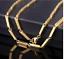 18k-feine-Goldkette-Koenigskette-vergoldet-55cm-lang-fuer-Damen-Herren-Geschenk Indexbild 1