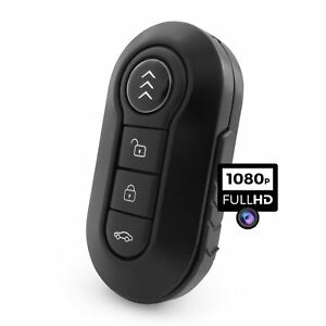 1080p-Portachiavi-Auto-Camera-Spia-Nascosto-Audio-Video-Rilevamento-Di-Movimento