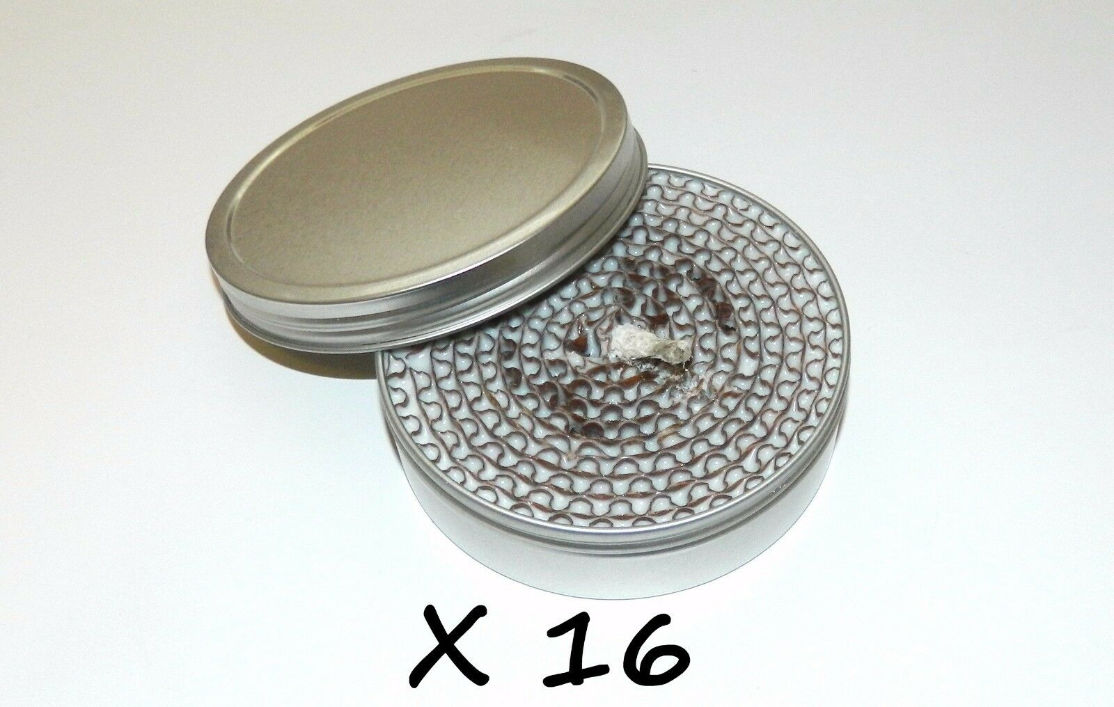 16 X 2-Hour Camping Survival Buddy Burner Stove Heat Light Fire For Bug Out Bag