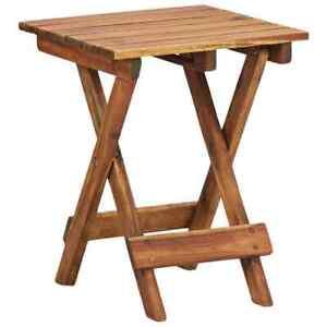 Folding Small Coffee Table Side Table Wooden Garden Patio Tea Desk New Table UK | EBay