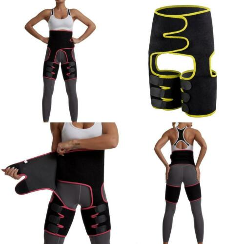 Women 3in1 Thigh Shaper Waist Trainer Leg Slimming Trimmer Workout Body Shaper