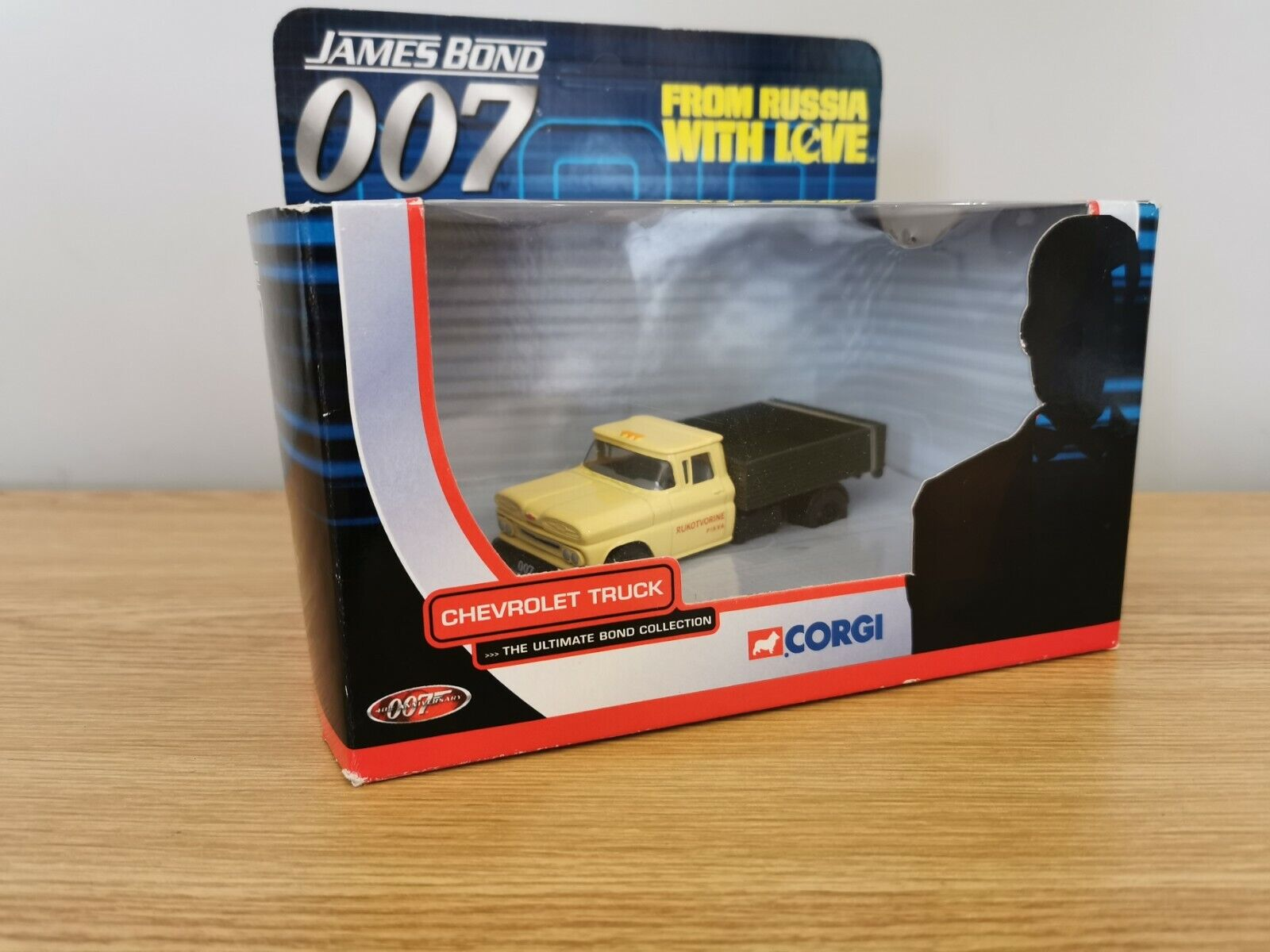 James Bond 007 FROM RUSSIA WITH LOVE Corgi Boxed Chevrolet Truck