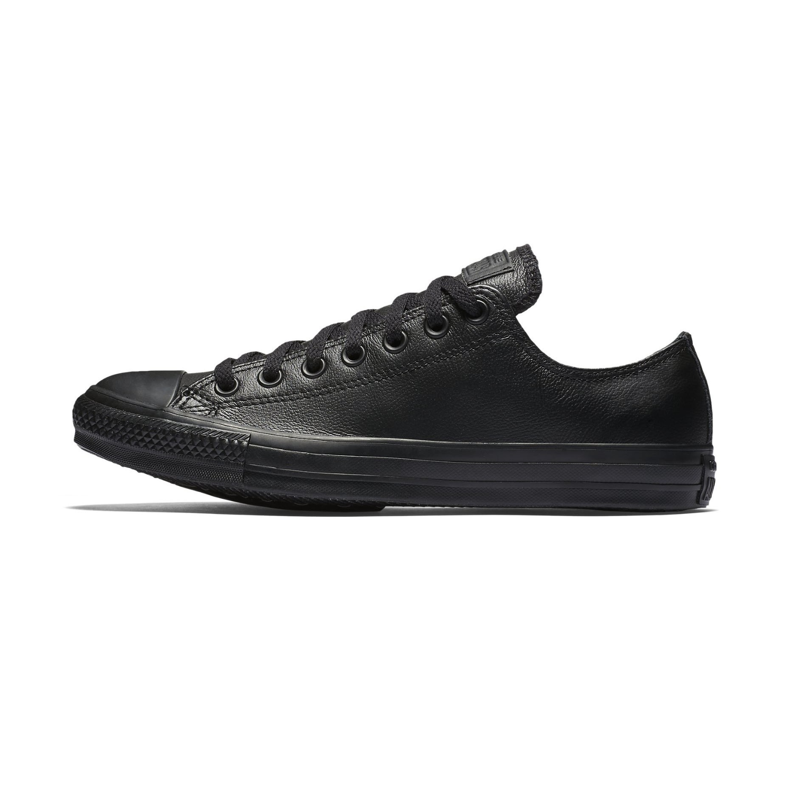 Converse C T T T All Star Ox Low Top  Weiß   mono schwarz  Leather Unisex Trainers  | Sale Online