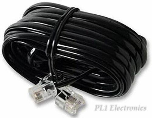 PRO SIGNAL PS11457 CABLE, RJ11-RJ11 (6P4C), BLACK, 3M