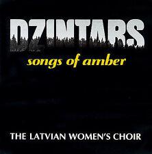 Dzintars: Songs Of Amber; Latvian Women's Choir 1990 CD, Yiddish, Rykodisc Excel