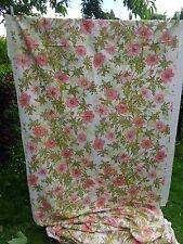 "Vintage floral SANDERSON fabric ""LAURA"" RARE 3.5 metres"