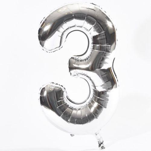 """5 estrellas de 32/"""" pulgadas de tamaño Lámina numeral Globos cualquier edad fecha número 2 Color UK"""