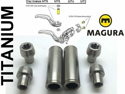 4 6 /& 8 Since 2015 MT2 Magura MT Brake Lever Clamp Bolts 2 Pack - Black